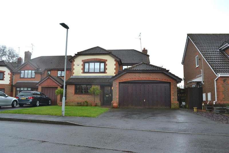 4 Bedrooms Detached House for sale in Dysgwylfa, Sketty, Swansea