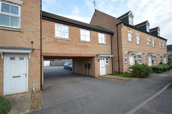 2 Bedrooms Apartment Flat for sale in JACKDAW ROAD, CORBY