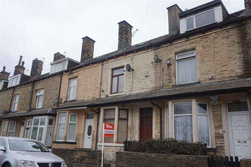 3 Bedrooms Terraced House for sale in Rushton Road, Thornbury, Bradford, BD3 8JQ