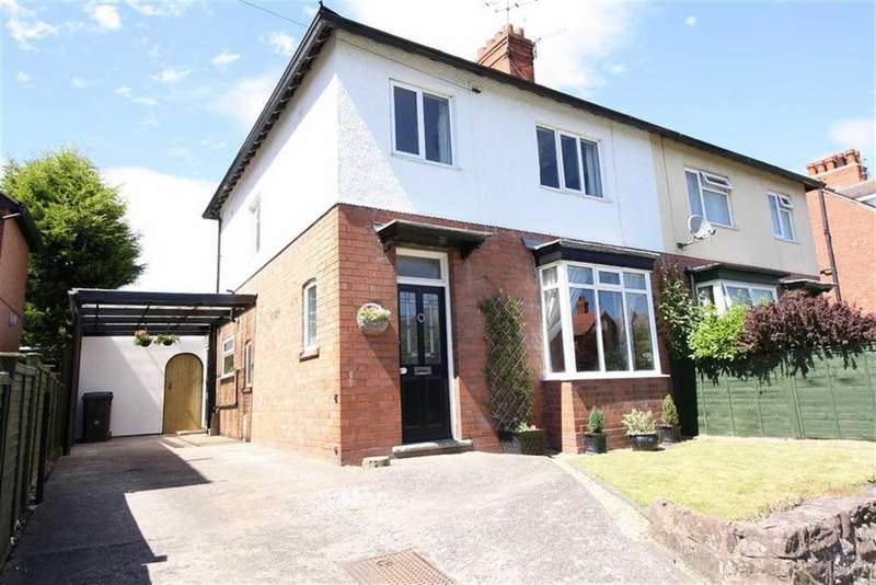 3 Bedrooms Semi Detached House for sale in Monkmoor Road, Shrewsbury