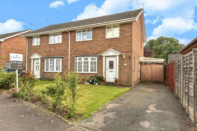 3 Bedrooms Semi Detached House for sale in Bishopstoke, Hampshire