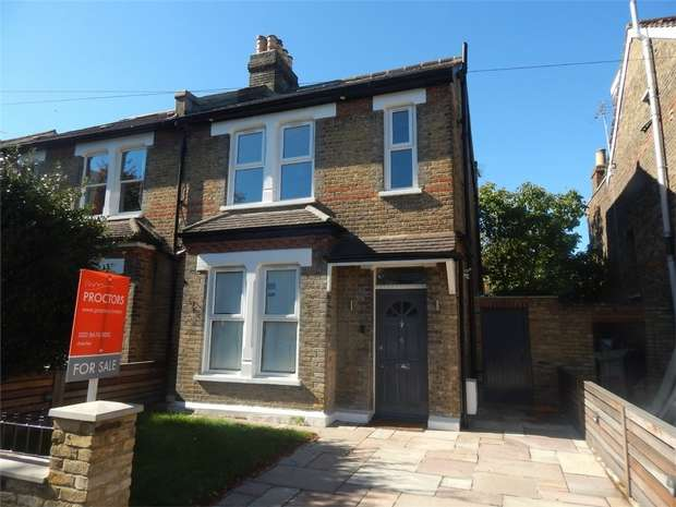 4 Bedrooms Semi Detached House for sale in Morland Road, Penge, London