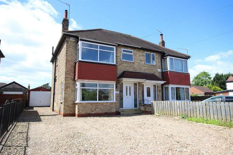 3 Bedrooms Semi Detached House for sale in Lowfield Road, Anlaby