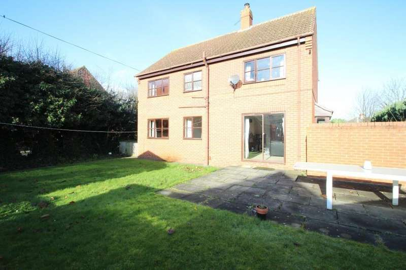 4 Bedrooms Detached House for sale in WILLOWDENE GARTH, EGGBOROUGH, GOOLE, DN14 0UA