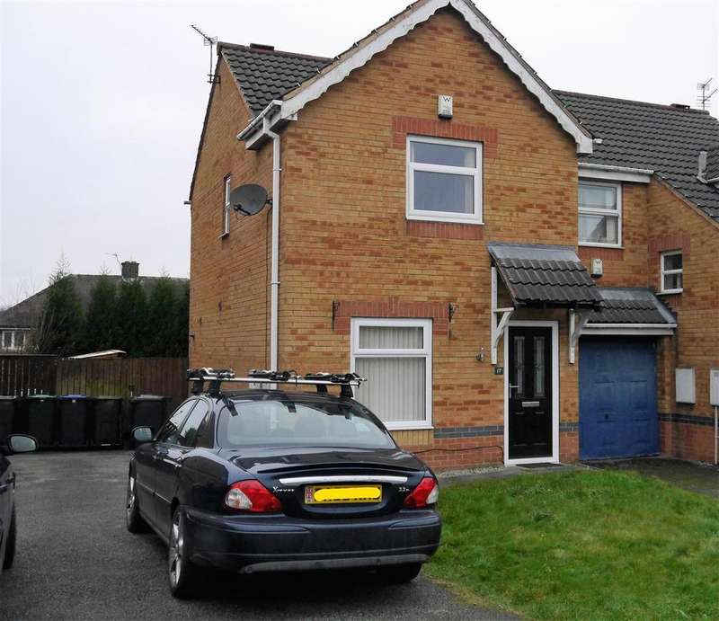 2 Bedrooms Semi Detached House for sale in Stainton Close, Buttershaw, Bradford, BD6 3TU