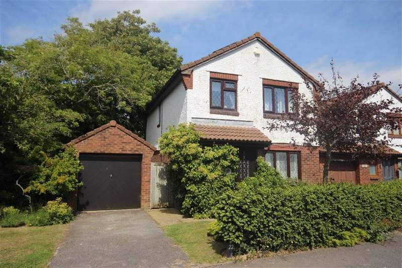 4 Bedrooms Detached House for sale in Badgers Copse, Seaford