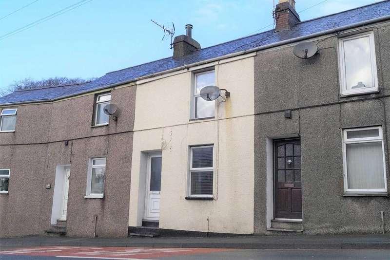 2 Bedrooms Terraced House for sale in Caernarfon Road, Pwllheli