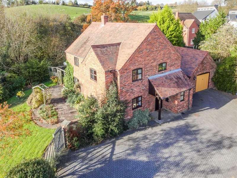 4 Bedrooms Detached House for sale in Old School Lane, Tenbury Wells