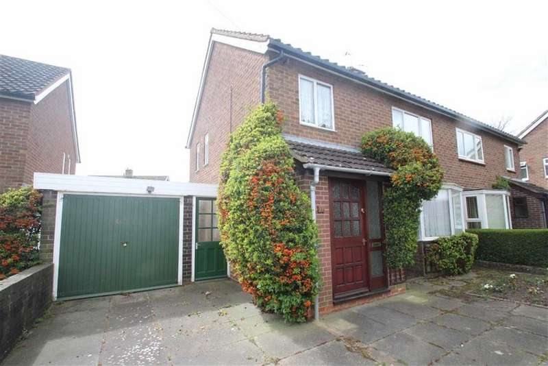 3 Bedrooms Semi Detached House for sale in York Road, Harlescott Grange, Shrewsbury