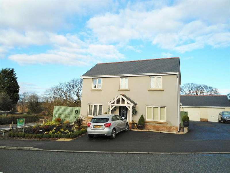 4 Bedrooms Detached House for sale in Colonel Road, Betws, Ammanford