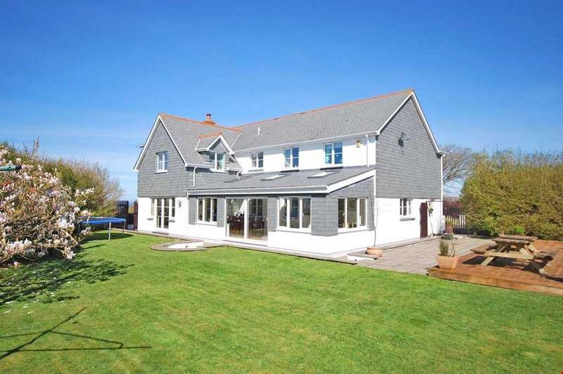 5 Bedrooms Detached House for sale in Wheal Kitty, St Agnes, Cornwall , TR5
