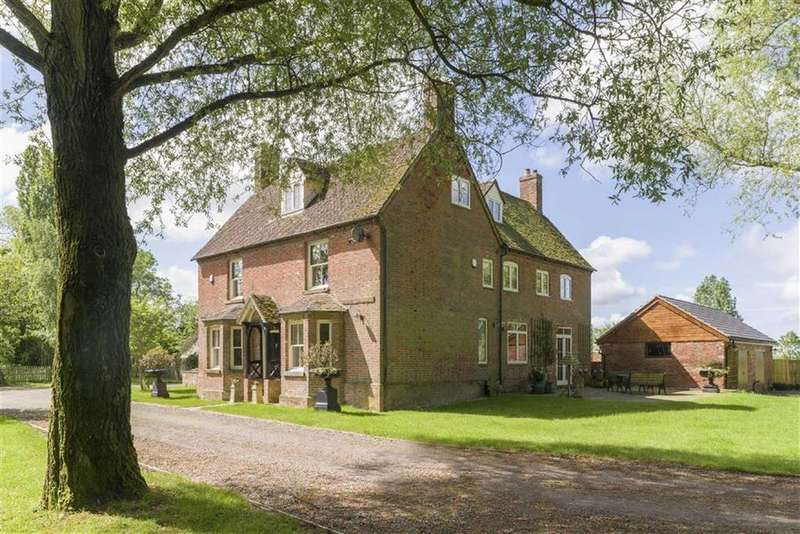 5 Bedrooms Detached House for sale in Heath Farm House, Old School Lane, Lighthorne, CV35