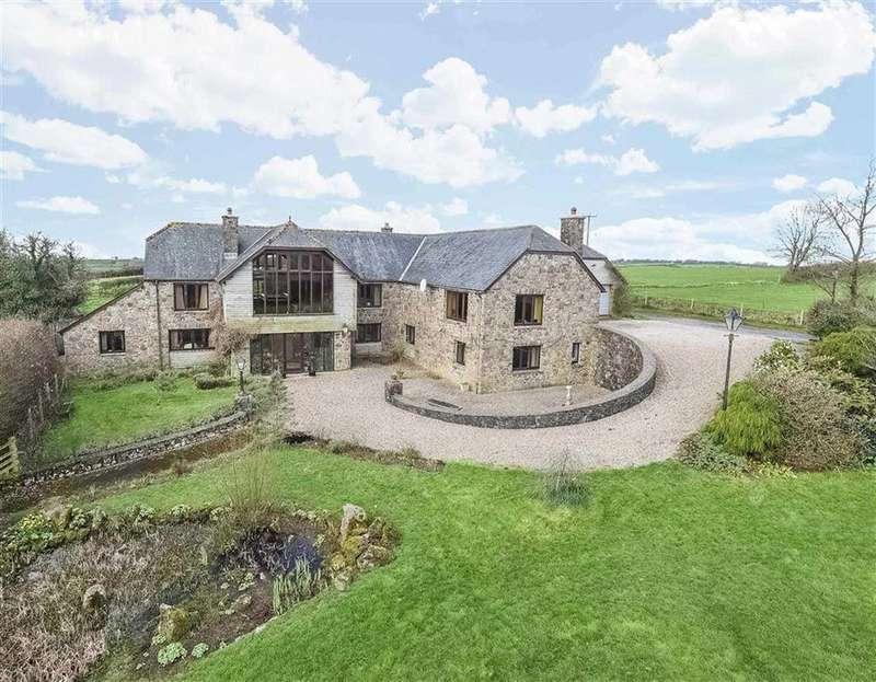 6 Bedrooms Detached House for sale in Charles, Brayford, Barnstaple, Devon, EX32