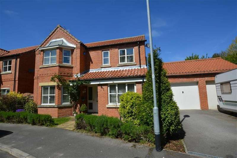 4 Bedrooms Detached House for sale in Thornton Close, Bilsthorpe, Nottinghamshire, NG22