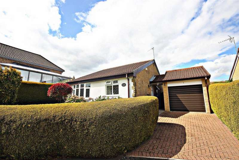 2 Bedrooms Detached Bungalow for sale in Hill View, Beamish