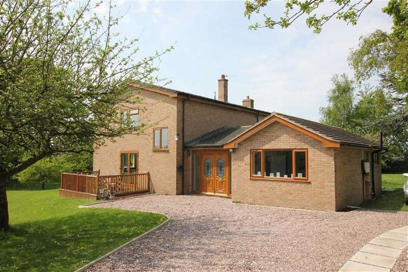 4 Bedrooms Detached House for sale in Aldersey Lane, Handley, Tattenhall