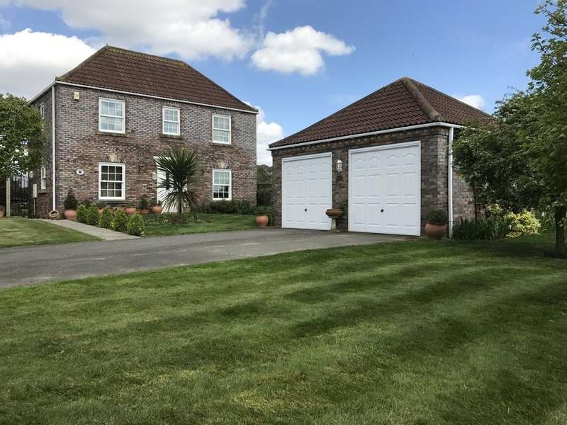 4 Bedrooms Detached House for sale in Ridings Close, Fiskerton