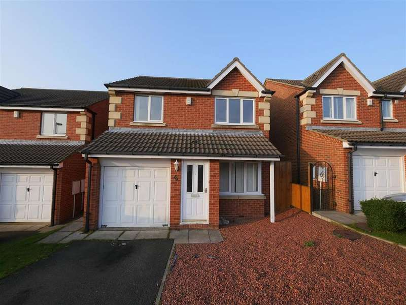 3 Bedrooms Detached House for sale in Okehampton Drive, Newbottle, Houghton Le Spring