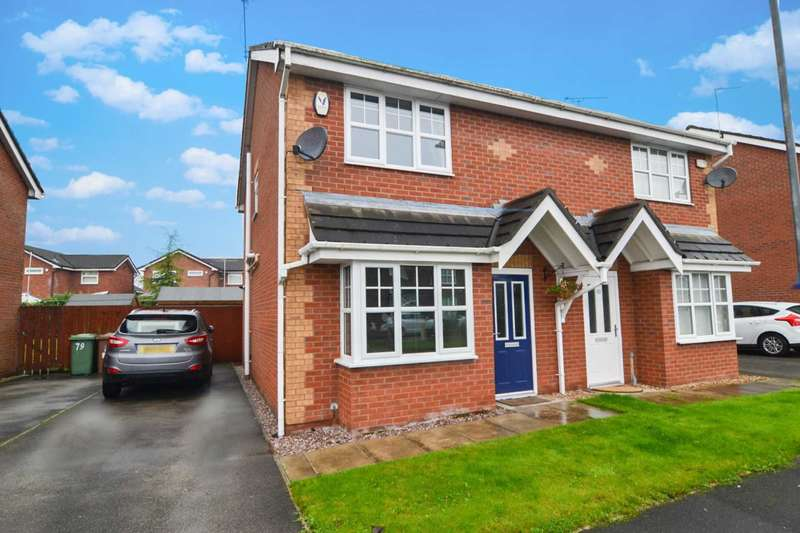 3 Bedrooms Semi Detached House for sale in Borron Road, Newton Le Willows