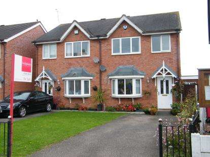 3 Bedrooms Semi Detached House for sale in Main Road, Moulton, Northwich, Cheshire