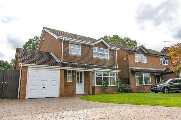 4 Bedrooms Detached House for sale in Grizebeck Drive, Allesley Green, Coventry, West Midlands