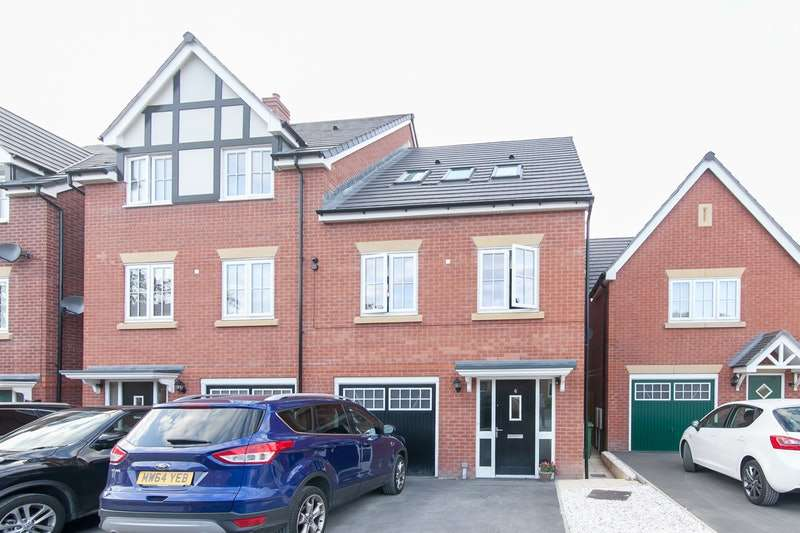 3 Bedrooms Town House for sale in Hornbeam Close, Stockport, Greater Manchester, SK2