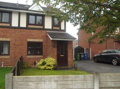 2 Bedrooms Semi Detached House for sale in Malpas Avenue, Whelley, Wigan, Greater Manchester, WN1