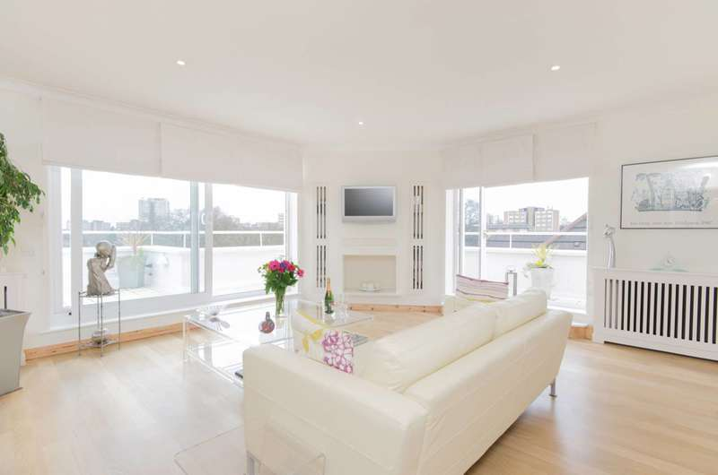 3 Bedrooms Penthouse Flat for sale in West Hill, West Hill, SW15