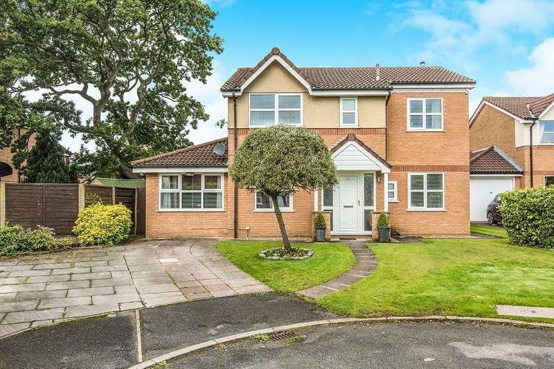 5 Bedrooms Detached House for sale in College Close, Longridge, Preston, PR3