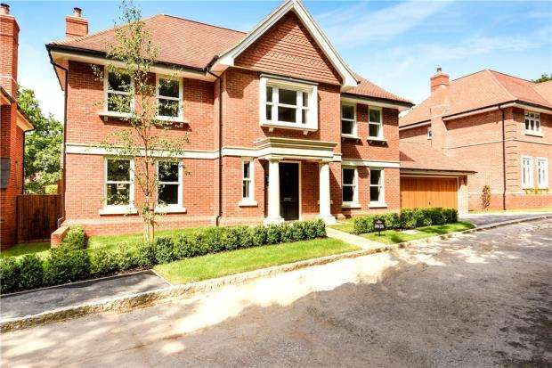 5 Bedrooms Detached House for sale in Murrell Hill, Binfield