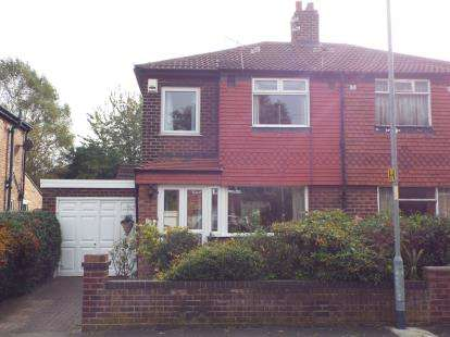 3 Bedrooms Semi Detached House for sale in Lynnwood Road, Manchester, Greater Manchester