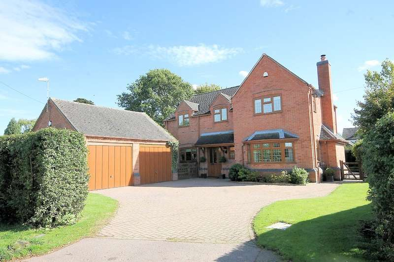 4 Bedrooms Detached House for sale in Meadow View, Church Lane, Chilcote, Nr Tamworth, DE12 8DL