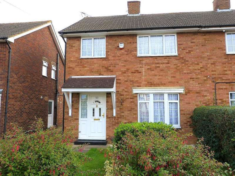 3 Bedrooms Semi Detached House for sale in Keats Way, West Drayton, UB7 9DS