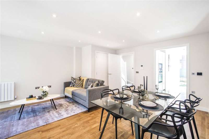 3 Bedrooms Semi Detached House for sale in King's Lodge, King's Avenue, Clapham, SW4