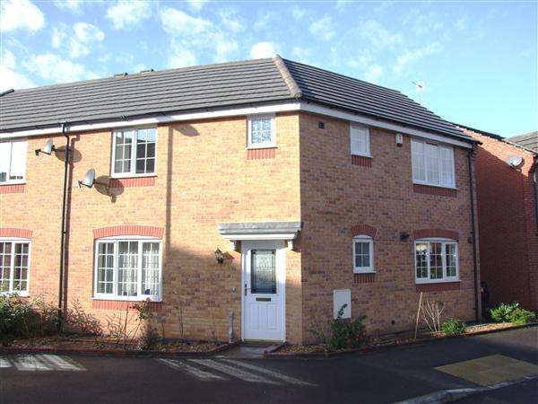 3 Bedrooms Semi Detached House for sale in Godwin Way, Trent Vale, Stoke-On-Trent