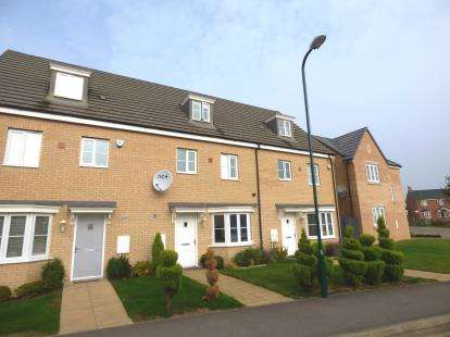 4 Bedrooms Terraced House for sale in Apollo Avenue, Cardea, Peterborough, Cambridgeshire
