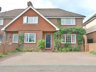 4 Bedrooms Semi Detached House for sale in Medway View, Three Elm Lane, Golden Green, Tonbridge