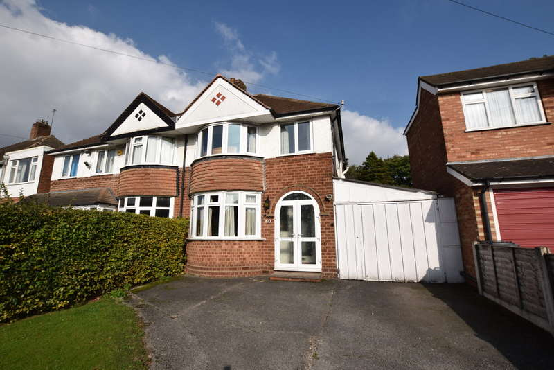 3 Bedrooms Semi Detached House for sale in Kimberley Road, Solihull