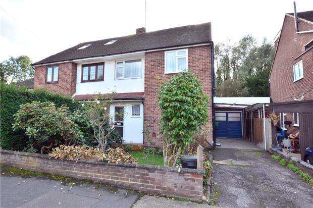 3 Bedrooms Semi Detached House for sale in Spencer Close, Uxbridge