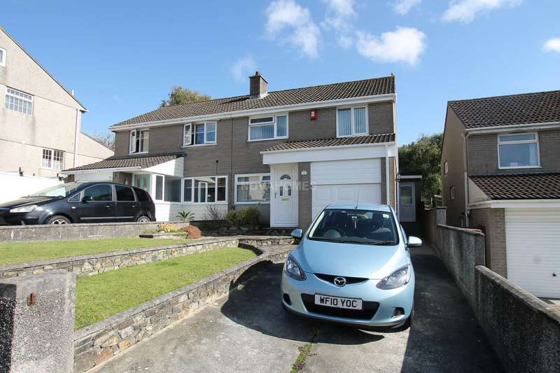 3 Bedrooms Semi Detached House for sale in Tuxton Close, Plympton, PL7 1QH