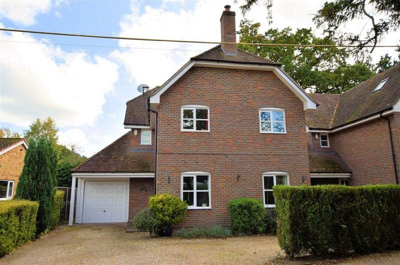5 Bedrooms Detached House for sale in Heath End Cottage, Bishopswood Lane, Baughurst, RG26