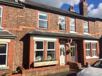 3 Bedrooms Terraced House for sale in Brackley Street, Stockton Heath, Warrington