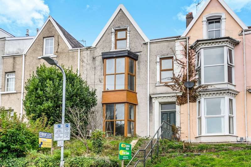 6 Bedrooms Terraced House for sale in Woodlands Terrace, Swansea