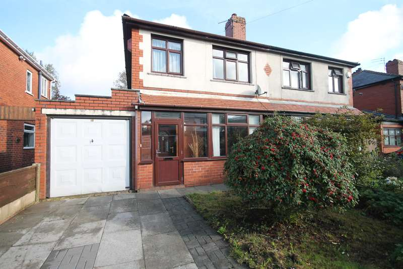 3 Bedrooms Semi Detached House for sale in Avondale Road, Farnworth, Bolton, BL4 0PA