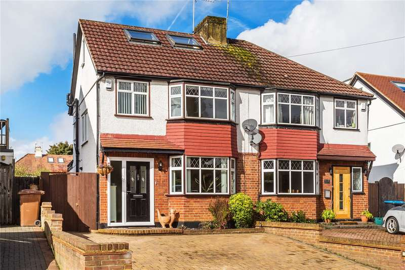 Semi Detached House for sale in Foxon Lane, Caterham, Surrey, CR3