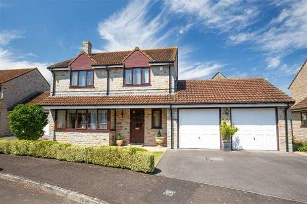 4 Bedrooms Detached House for sale in Manor Park, Keinton Mandeville, Somerton