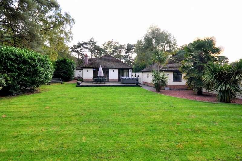 4 Bedrooms Detached Bungalow for sale in St Leonards, Ringwood, BH24 2SE