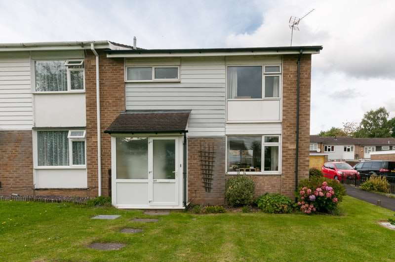 3 Bedrooms End Of Terrace House for sale in Hithercroft Road, High Wycombe, Buckinghamshire, HP13