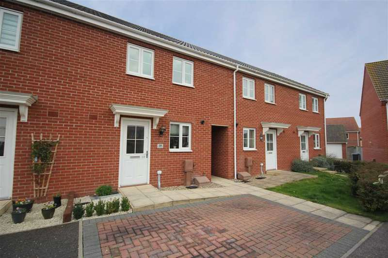 2 Bedrooms Terraced House for sale in Lower Reeve, Great Cornard