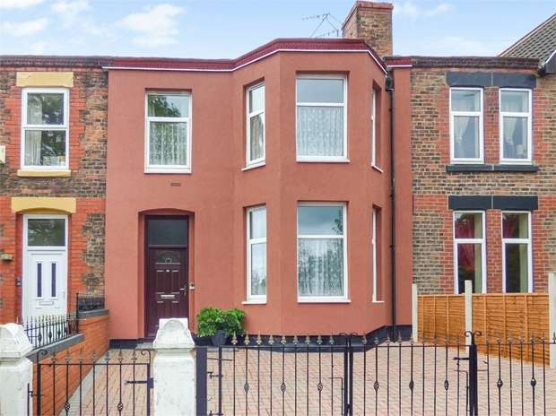 4 Bedrooms Terraced House for sale in Park Road East, Birkenhead, Merseyside